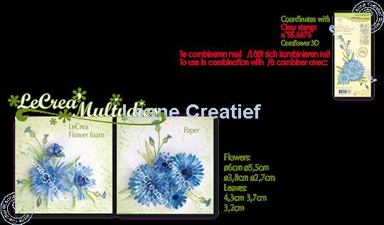 Picture of Lea'bilitie® Multi die 020 Cornflower cut and embossing die