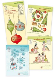 Picture for category Clear stamps Christmas