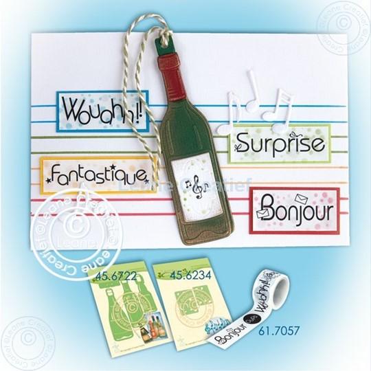 Bild von Bottle label