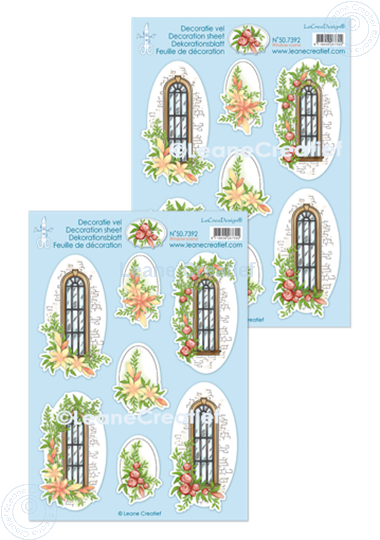 Picture of Decoration sheets Window scene