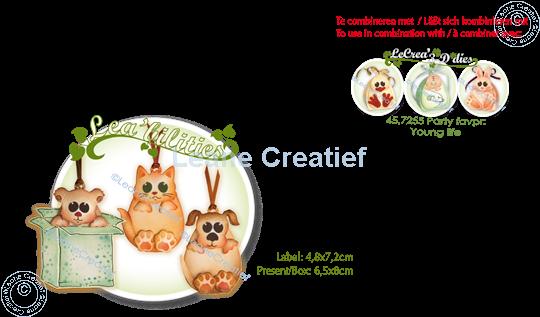 Bild von Lea'bilitie® Haustiere Party & Geschenk Präge- und Schneideschablone