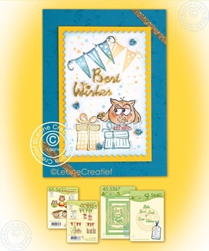 Image de Combi stamp Owly & Presents