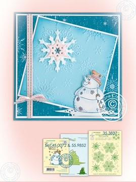 Image de Winter Snowman Stamp & Die