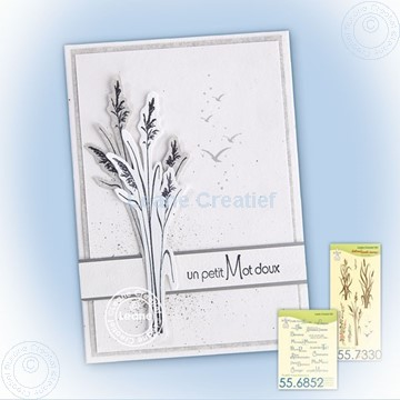 Picture of Waterside, reed stamp