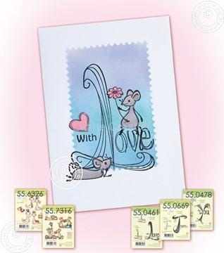 Afbeeldingen van Doodle Love + mice