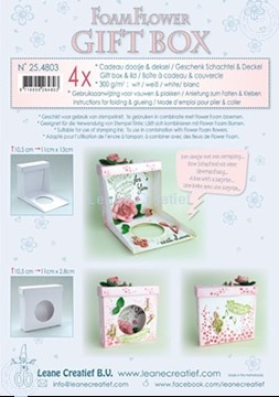 Picture of Flower Foam Gift Box