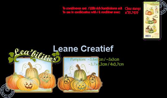 Picture of Lea'bilitie® Pumpkins cut and embossing die