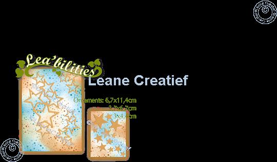 Image sur Lea'bilitie® Décoration d'étoiles matrice pour découper
