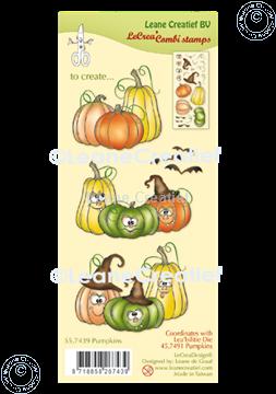 Image de LeCreaDesign® tampon clair à combiner Citrouilles