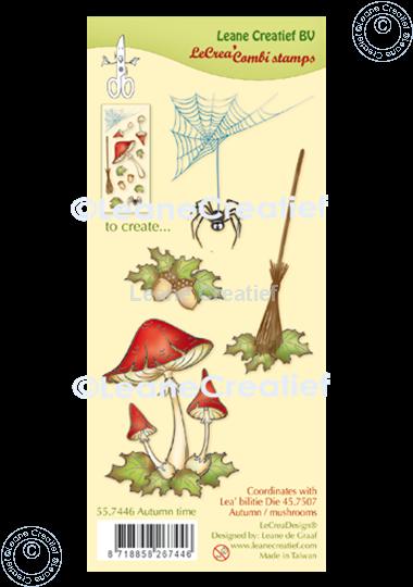 Bild von LeCreaDesign® Silikon Kombi Stempel  Herbstzeit