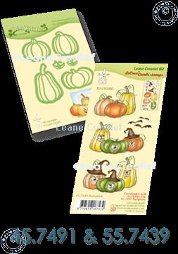 Afbeeldingen van Set Lea'bilitie & Clearstamp Pumpkins
