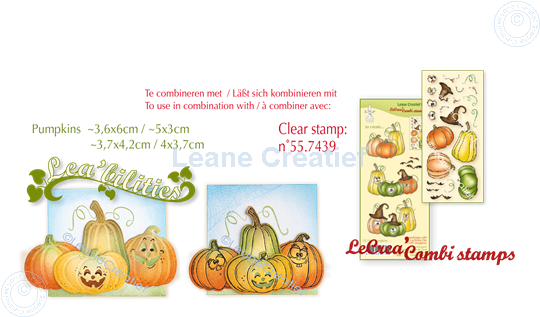 Picture of Set Lea'bilitie & Clearstamp Pumpkins