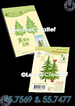 Afbeeldingen van Set Lea'bilitie & Clearstamp Christmas tree
