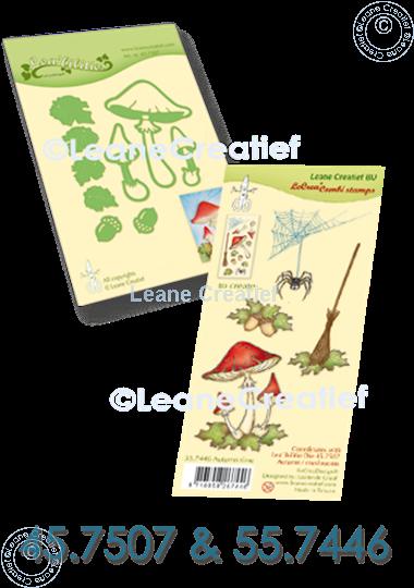 Image sur Set Lea'bilitie & Clearstamp Mushrooms Autumn